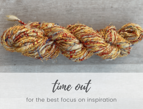 Time out – for a better focus on inspiration